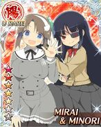 Mirai and Minori2