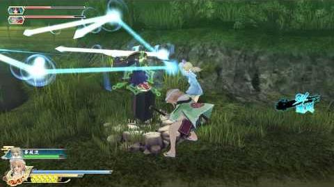 PS4 60FPS『閃乱カグラ ESTIVAL VERSUS -少女達の選択-』Hanabi gameplay(All Ninpos)