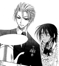 Takumi ready to pour tea