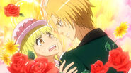 Blonde Misaki and Usui