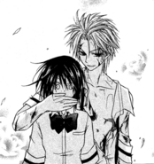 Takumi stops Misaki from revealing her secret
