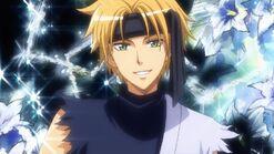Takumi as a ninja