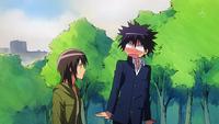 Misaki scares Aoi