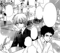 Sakuya and Takumi's battle