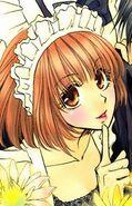 Honoka's appearance in the manga