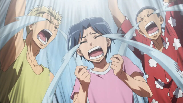 File:The moron trio crying.jpg
