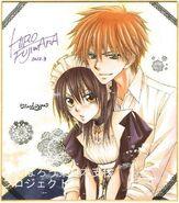 Usui holding Misaki
