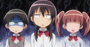 Shocked misaki, shizuko and sakura