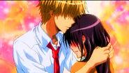 Usui embraces Misaki