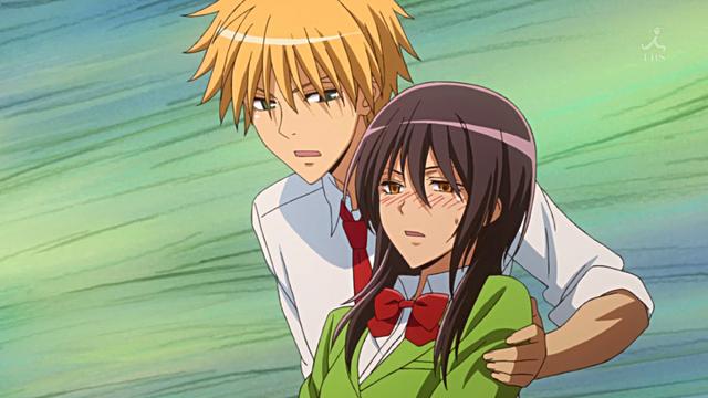 File:Takumi catches Misaki.png