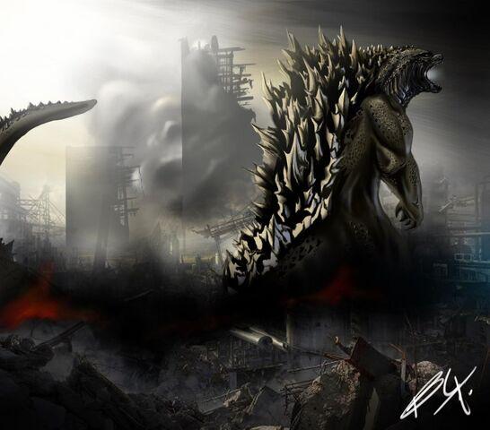 File:Godzilla 2014 by birmelini-d6rj94n.jpg