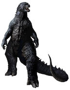 Godzilla 2014 RoomMates Godzilla Peel and Stick Giant Wall Decals