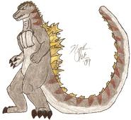 Godzilla ii reanimated by supersaiyan4godzilla