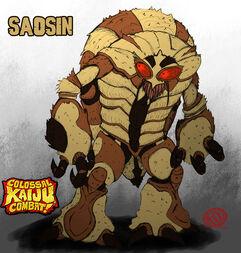 Saosin the giant cicada by kaiju saur-d6cyiha