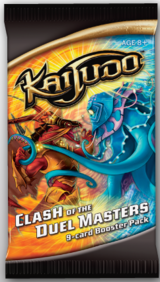 Clash of the Duel Masters booster pack