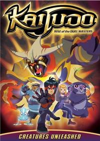 Kaijudo - Creatures Unleashed DVD