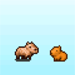 PH crop capybara doll