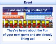 Fans Lining Up-GameDevStory