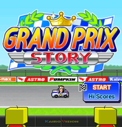 Title Screen - Grand Prix Story