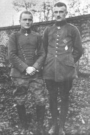 Manfred and Lothar Richtofen
