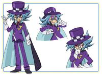 Shadow Joker Character Design