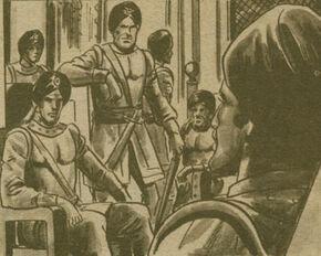Vengadores de Kali Cara