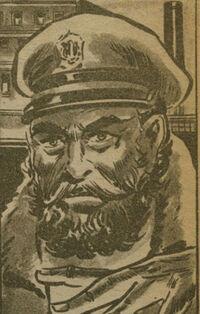 Capitán Garfio Cara