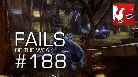 Fails of the Weak - Funny Halo Bloopers and Screw Ups! - Volume 188
