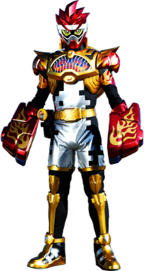 Kamen Rider Para-Dx Knock Out Fighter Level 50
