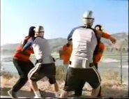 Aquabat Riders fight Combatmen