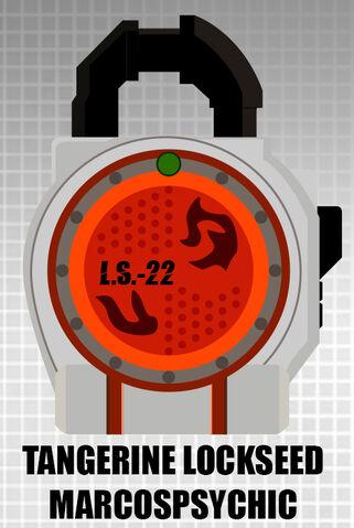 File:Fan lock tangerine lockseed by cometcomics-d71290c.jpg