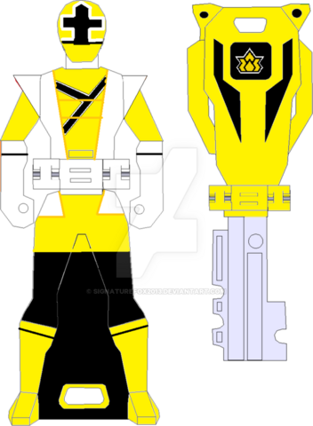File:Super shinken yellow ranger key by signaturefox2013-d8g3nmh.png