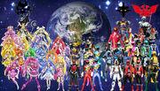 Precure x kamen rider x super sentai superhero g by ryokia96-d6ibqua