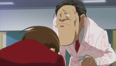 Kodama yelling at Keima