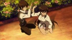 Kusnoki tells Keima to shut up