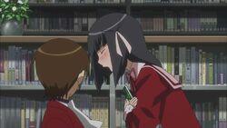 Shiori's Anger against Keima
