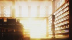 Shiori and Keima anime