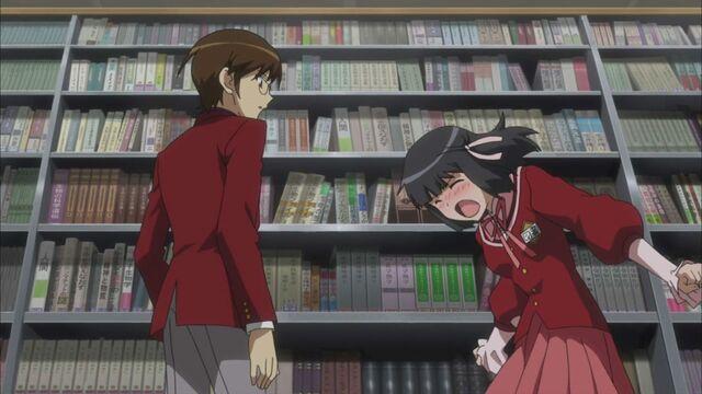 File:Shiori yells at Keima.JPG