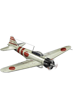 Type 0 Fighter Model 21 (Skilled) 096 Equipment
