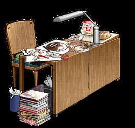Setsubun Manuscript Desk