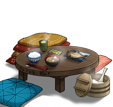 Image Low dining table setpng Kancolle Wiki FANDOM powered