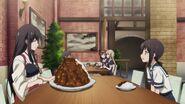 Anime episode 2 Mamiya's Cafeteria