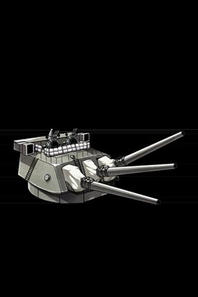 Prototype 41cm Triple Gun Mount 105 Equipment