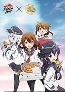 Anime partnership with Pizza Hut 3