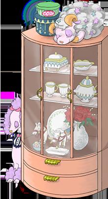 Fairytale shelf