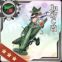 Ju 87C Kai 064 Card