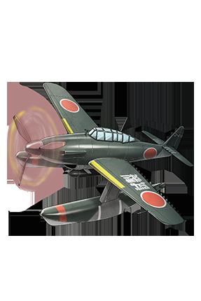 Prototype Seiran 062 Equipment