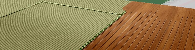 Half-floor worth of Tatami