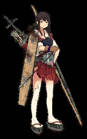 CV Akagi 083 Full Damaged