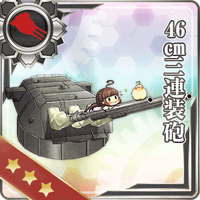 46cm Triple Gun Mount 009 Card